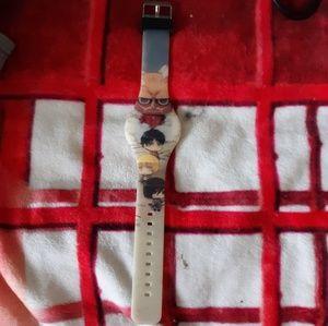 Attack on Titan Light Up Digital Watch